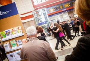 Milonga dans Mulhouse, de la gare à la Place de la Réunion