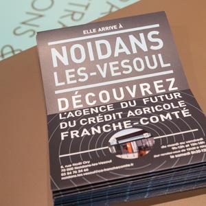 Agence bancaire Crédit Agricole Franche-Comté de Noidans-les-Vesoul