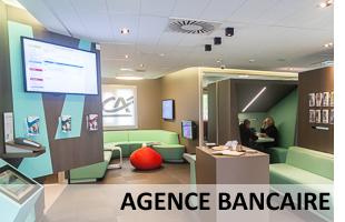 Visite virtuelle agence bancaire