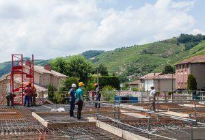 Domaine E. Guigal - Construction des nouvelles caves